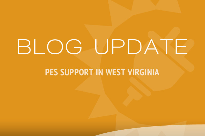 PES Supports Renewable-based Distributed Generation in West Virginia