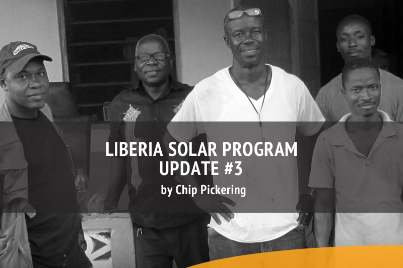 Pickering Energy Solutions Liberia Solar Program Update 3