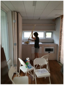 Pickering Energy Staff clean interiors