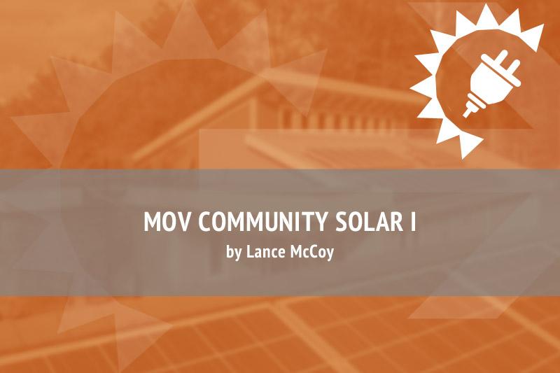 MOV Community Solar I