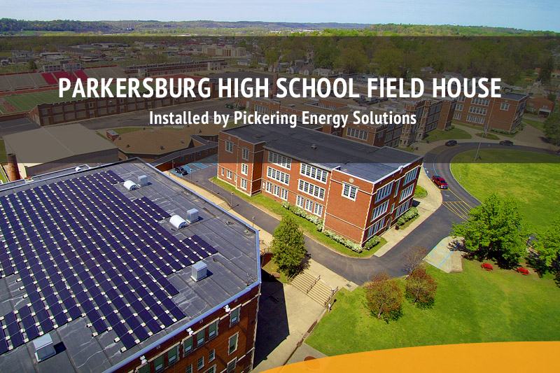 PHS Field House Solar Installation